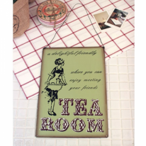 [2HOT] tea room 틴 사인보드