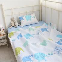 [n1y] 블루멜랑 키즈 라미리플 베개 커버만 35x50