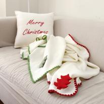 [콩지] 화이트 크리스마스 무릎담요