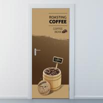 ncbr156-로스팅 커피-현관문시트지