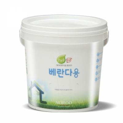 냄새없는 순앤수 항균페인트2L(무광) - 베란다/다용도실