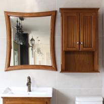 뉴라인 사각 원목 거울(하임엔틱)