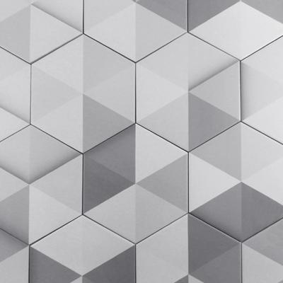 큐브 육각타일-8패턴(200X230)/박스판매