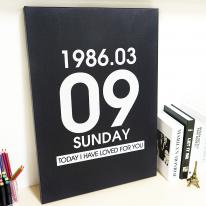 주문제작 기념일액자 customart-001