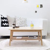 [벤트리] 원목 소파 테이블