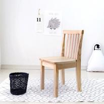 [벤트리] 원목 심플 키즈 의자