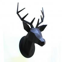 [이따] IDDA Paper Hunting Trophy-Deer Head(Black)