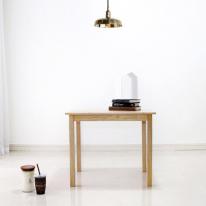 [벤트리] 원목 심플 테이블