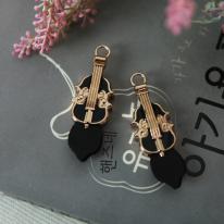 지퍼고리]천연가죽1set 2개-기타(블랙)(99915)