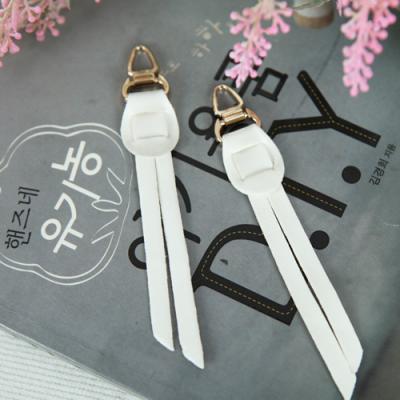 지퍼고리]천연가죽1set 2개-파인힐(99907)