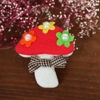 봉제식 입체와펜]레드버섯(99851)