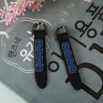 지퍼고리]천연가죽1set 2개-쥬아나(블루)(99902)