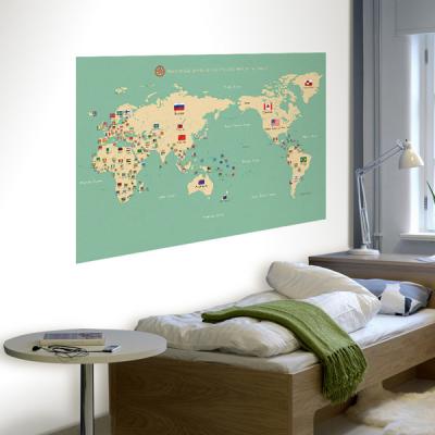 초간편 어린이세계지도-C1101(민트)