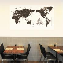 초간편 커피세계지도-F1101(화이트)