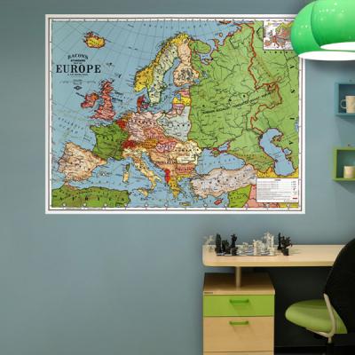 초간편 빈티지세계지도-V1104(유럽)