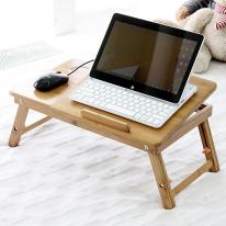 대나무 노트북테이블