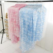 구름무늬 투명창 옷커버 40장 세트