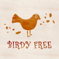 스텐실 도안_Birdy Free