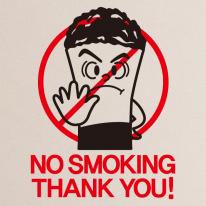 금연스티커_담배꽁초 NO SMOKING THANK YOU