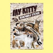 스티커붐 마이키티 고양이 스티커 -냉장고스티커/캐리어스티커
