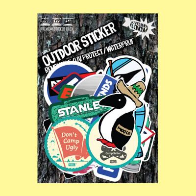 스티커붐 캠핑스티커 vol.3 -냉장고스티커/캐리어스티커