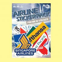 스티커붐 항공사 스티커 -냉장고스티커/캐리어스티커