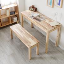아카시아원목 1000×450 다용도 슬림 테이블