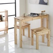 아카시아원목 800×300 다용도 사이드 테이블