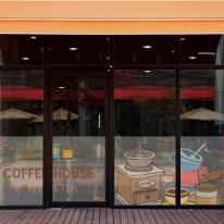 dgho032-커피하우스-반투명시트지