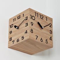 (ksjp492)삼면시계 우드