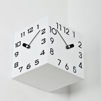 (ksjp493)삼면시계 화이트