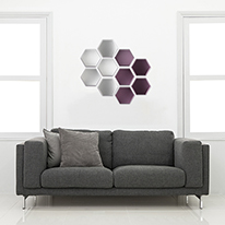 DIY ART쿠션타일[육각 와인]187*162
