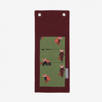 Wall pocket (mini) - 01 Lesser panda