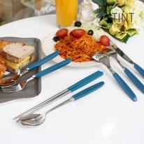 [마호커트러리]틴트 온가족 한식/양식 수저 7종세트 2개