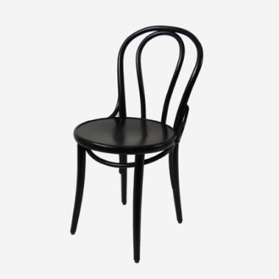[베네체어] 곡목의자1_BLACK