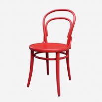 [베네체어]  곡목의자2_RED