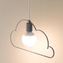 [LED] 구름1등 펜던트 - 2color