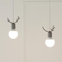 [LED] 디어2등 펜던트-그레이