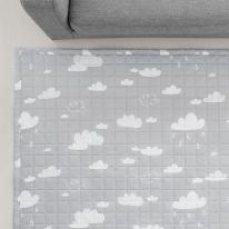 [바이빔]구름 퀼팅 러그[100x150]-소형