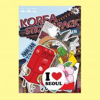 스티커붐 한국 서울 스티커 -냉장고스티커/캐리어스티커