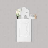 Off elephant 스위치 아크릴 스티커