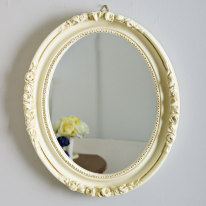(kkjj436)줄리 원형 거울 아이보리