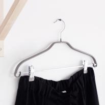 [하우스레시피] 맥스 논슬립 PVC 코팅 집게형 옷걸이 3개set - 그레이
