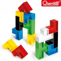 폴리 큐브 패턴 블럭 19PCS_4015