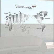 ph140-지그재그패턴세계지도(대형)