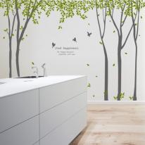 ph155-나뭇잎이흩날리는자작나무숲(초대형)