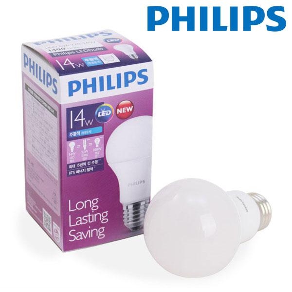 필립스 LED 전구 14W (삼파장 30W 대체)