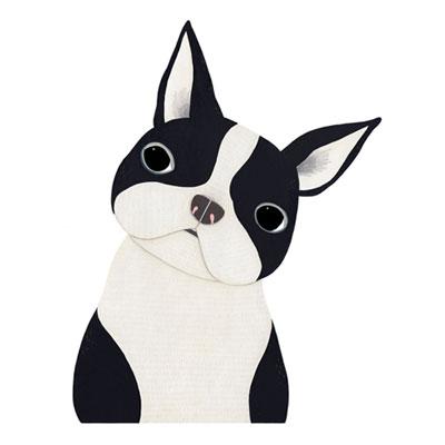 [Millim] Zoo Print Dog