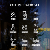 idc288-카페 픽토그램세트