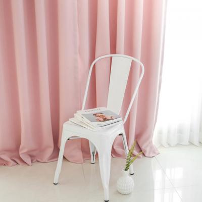 파스텔 핑크 풀달 암막커튼